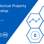 Wednesday 13 November - Intellectual Property Workshop